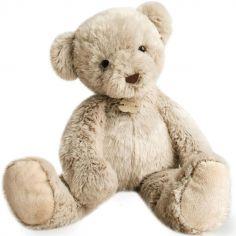 Peluche géante ours beige chiné (60 cm)