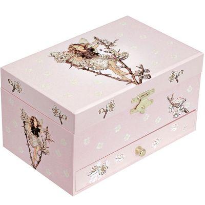 Boîte à bijoux musicale phosphorescente Fairies  par Trousselier