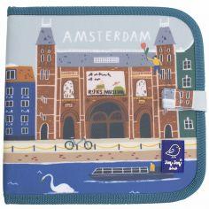 Livre à dessiner Amsterdam Cities of Wonder