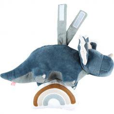 Peluche musicale à suspendre Ops le tricératops TSO (17 cm)