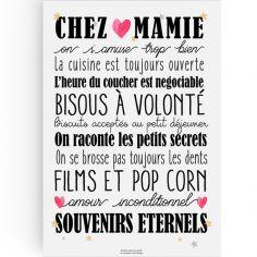 Affiche Chez Mamie (A3)