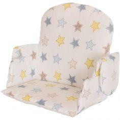 Coussin étoiles pour chaise haute Geuther