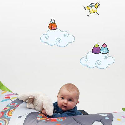 Lot de 2 stickers Petits nuages  par Série-Golo