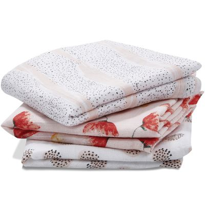 Lot de 3 langes en coton Picked for you (70 x 70 cm)  par aden + anais