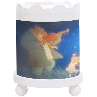 Manège magique Ernest et Célestine blanc  par Trousselier