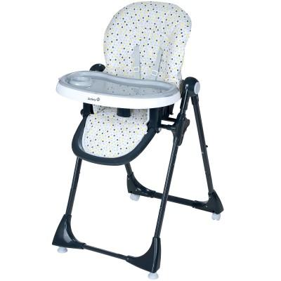 chaise haute volutive kiwi grey patches par safety 1st. Black Bedroom Furniture Sets. Home Design Ideas