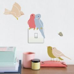 Stickers birds on light Just a Touch