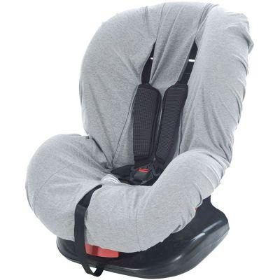 Housse siège auto en jersey gris chiné (groupe 0+/1)  par Tinéo