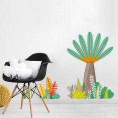 Stickers muraux Petite jungle