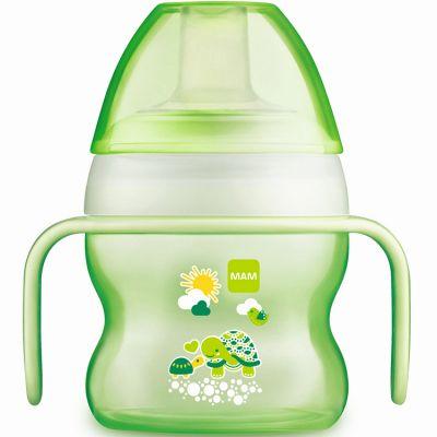 Tasse à bec souple tortue vert (150 ml)  par MAM