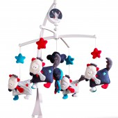 Mobile musical Mister Bouh - Sauthon Baby Déco