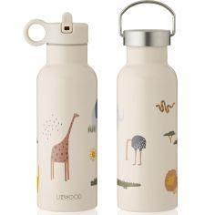 Gourde isotherme Neo Safari écru (500 ml)