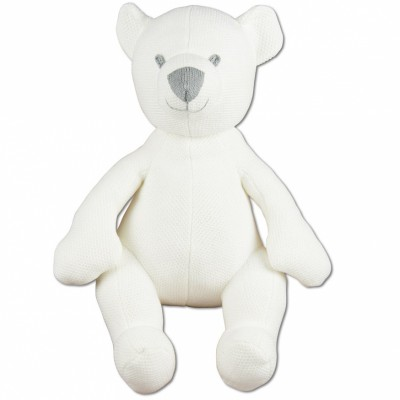 Peluche ourson Classic blanc ivoire (35 cm) Baby's Only