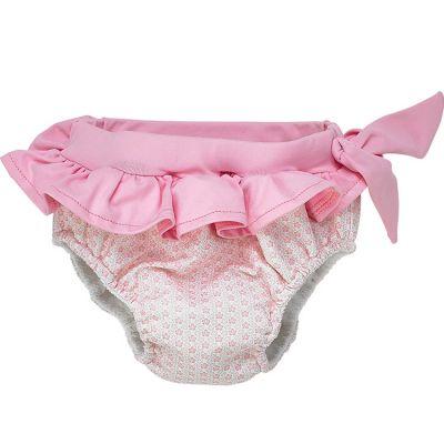 Maillot de bain culotte double protection Cocon Girl (3-6 mois)  par Archimède