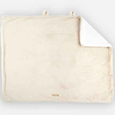 Couverture longs poils Mix & Match ivoire (75 x 100 cm)  par Noukie's