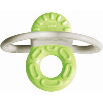 Mini-anneau de dentition phase 1 vert + boîte de stérilisation  par MAM