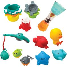 Coffret jouets de bain Splish & Splash
