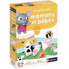 Jeu éducatif Mamans et bébés (24 pièces)