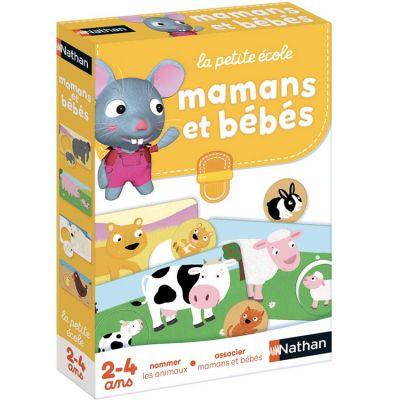 Jeu éducatif Mamans et bébés (24 pièces)  par Nathan