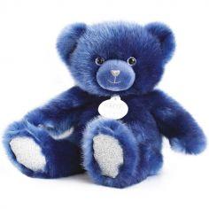Peluche ours bleu nuit La Peluche (30 cm)
