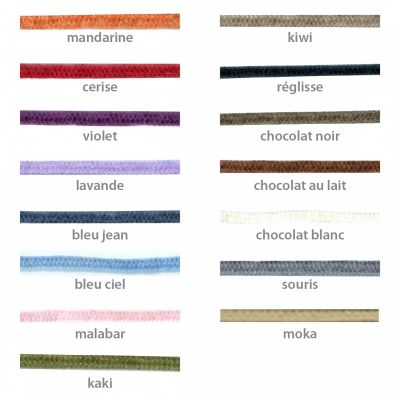 Cordons supplémentaires pour bracelets Mikado (plusieurs coloris)  par Mikado