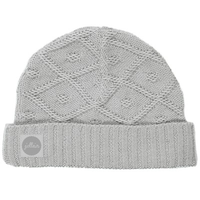 Bonnet Diamond knit gris (6 mois) Jollein