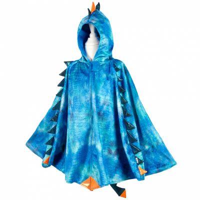 Cape de dragon bleu (5-7 ans)
