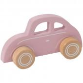 Voiture Coccinelle en bois Pink blossom - Little Dutch
