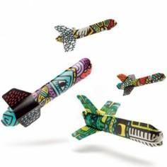 Avion à colorier kuna