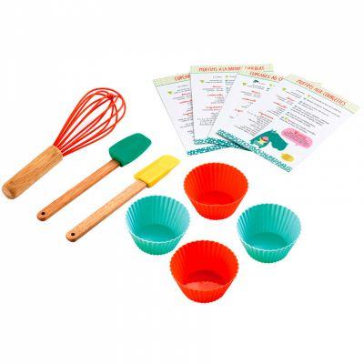 Kit d'ustensiles de cuisine Les cupcakes de l'Hippopo Maison Petit Jour