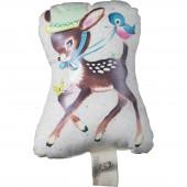 Doudou gling Bambi Des ronds dans les Etoiles (12 cm) - Les Petits Vintage