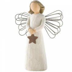 Statuette ''Ange de lumière'' (résine)