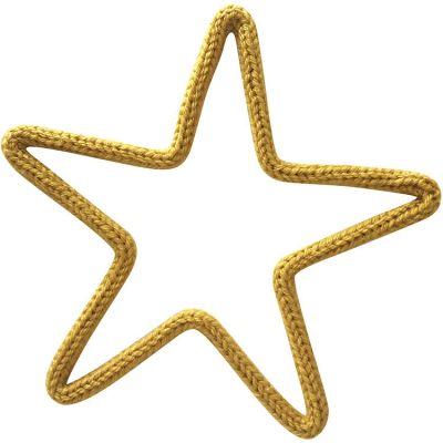 Déco murale mini étoile en tricotin (personnalisable)  par Charlie & June