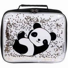 Sac isotherme à paillettes Panda