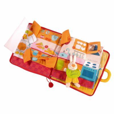Livre bébé Bonsoir Petit Lapin  par Lilliputiens