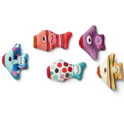 Marionnettes à doigt de bain Poissons  par Lilliputiens
