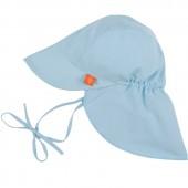 Casquette anti-UV Splash & Fun bleu clair (0-6 mois) - Lässig