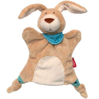 Doudou marionnette lapin (24 cm) Sigikid