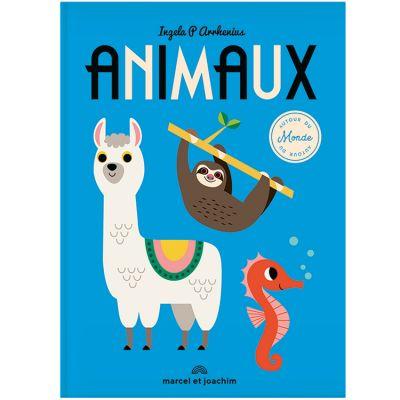 Livre imagier géant Animaux autour du monde  par Marcel et Joachim