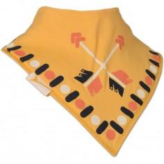 Bavoir bandana Flèches jaune