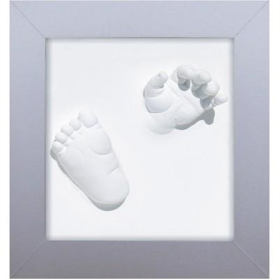 tableau empreintes 3d deluxe happy hands berceau magique. Black Bedroom Furniture Sets. Home Design Ideas