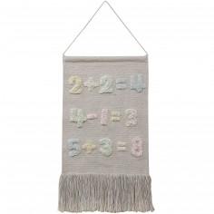 Tenture décorative nombres