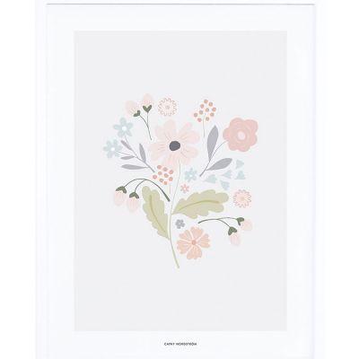 Affiche encadrée bouquet tige (30 x 40 cm)  par Lilipinso