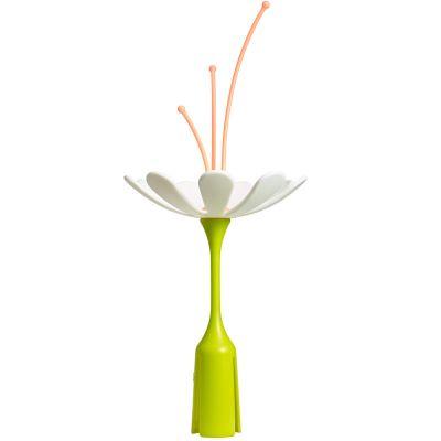 Fleur égouttoir Stem blanc et orange Boon