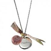 Collier Ange (argent 925° et nacre) - Petits trésors