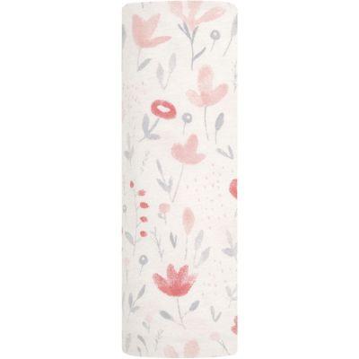 Maxi lange maille confort fleur Perennial (120 x 120 cm)  par aden + anais