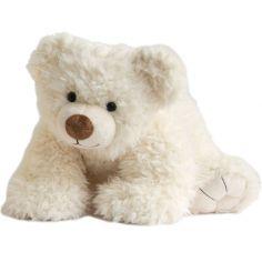 Peluche Pat'ours blanc (50 cm)