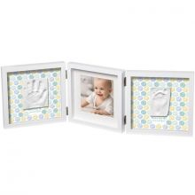 Cadre photo empreinte My Baby Style double  par Baby Art