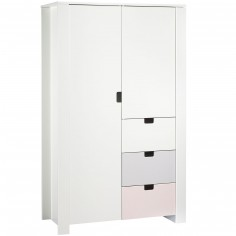 Armoire 2 portes City girl