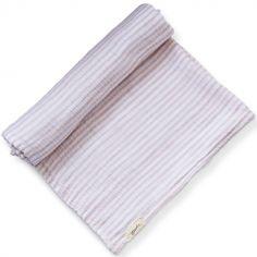 Maxi lange Petal Stripes Away (120 x 120 cm)